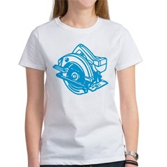 Pop Art - 'Circular Saw - Blu Women's T-Shirt