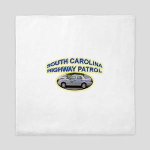 South Carolina Highway Patrol Queen Duvet