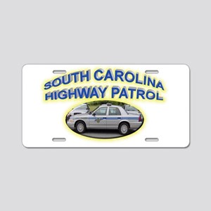 South Carolina Highway Patrol Aluminum License Pla