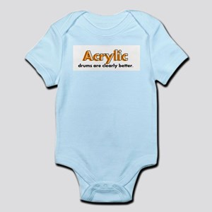 Acrylic Drums Infant Bodysuit