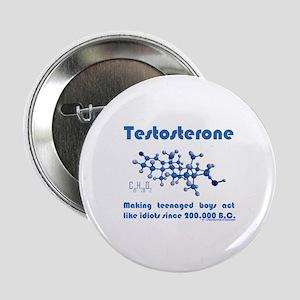 "Testosterone 2.25"" Button"