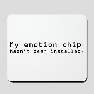 Emotion Chip - Star Trek Mousepad