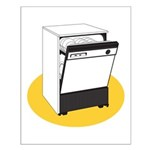 Pop Art - 'Dishwasher' Small Poster
