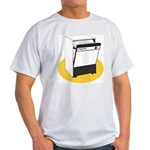 Pop Art - 'Dishwasher' Ash Grey T-Shirt