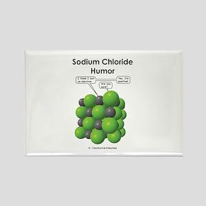 Sodium Chloride Humor Rectangle Magnet