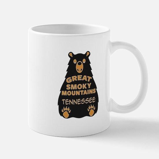 Great Smoky Mountains Bear National Park Tenn Mugs