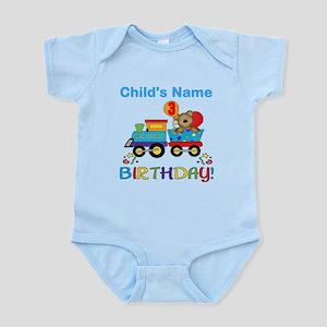 3rd Birthday Train Infant Bodysuit