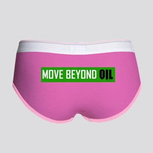Move Beyond Oil Women's Boy Brief