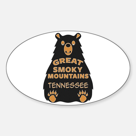 Great Smoky Mountains Bear National Park T Decal