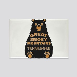 Great Smoky Mountains Bear National Park T Magnets