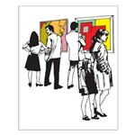 Pop Art - 'Gallery' Small Poster