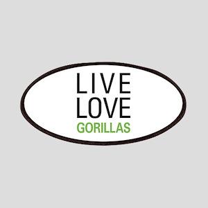 Live Love Gorillas Patches
