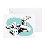 Pop Art - 'Faucet' Greeting Cards (Pk of 10)