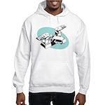 Pop Art - 'Faucet' Hooded Sweatshirt