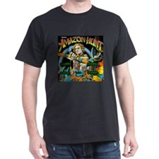 Gottlieb® Amazon Hunt Pinball Dark T-Shirt