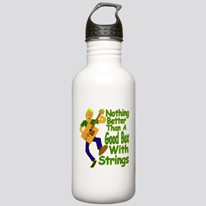 Box Guitar Stainless Water Bottle 1.0L