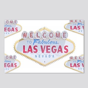 Las Vegas Sign Logo Postcards (Package of 8)