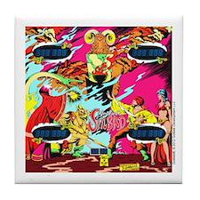 Gottlieb® Sinbad Pinball Tile Coaster