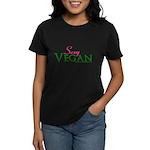 Sexy Vegan Women's Dark T-Shirt