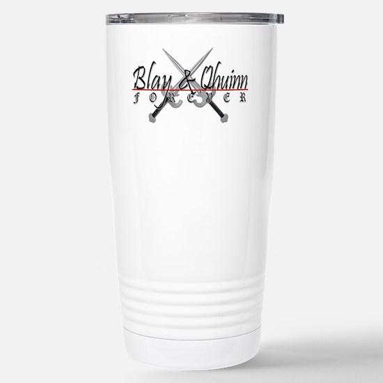 Blay And Qhuinn Forever Stainless Steel Travel Mug