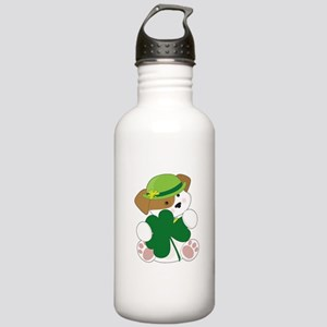 Cute Puppy St Pats Stainless Water Bottle 1.0L