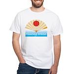 Ukiyo-e - 'Floating World Fan White T-Shirt