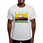 Ukiyo-e - 'Mount Fuji' Ash Grey T-Shirt