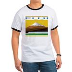Ukiyo-e - 'Mount Fuji' Ringer T