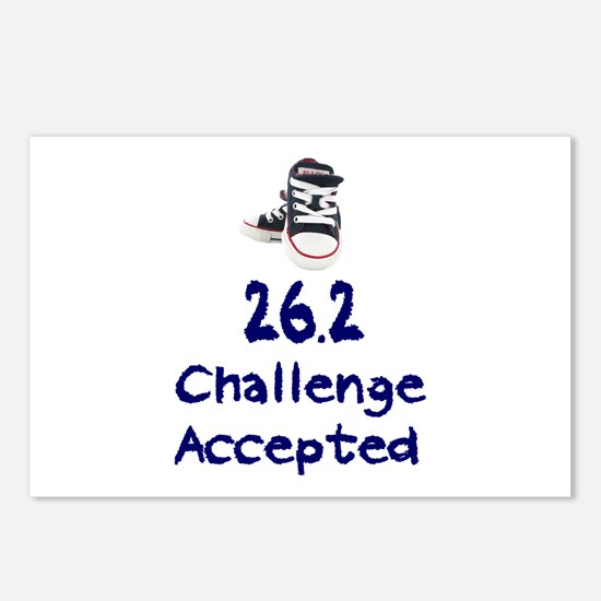 26.2 Challenge Accepted Postcards (Package of 8)