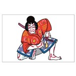 Ukiyo-e - 'Kabuki Actor' Large Poster