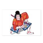 Ukiyo-e - 'Kabuki Actor' Postcards (Package of 8)