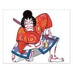 Ukiyo-e - 'Kabuki Actor' Small Poster