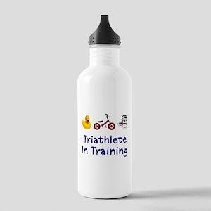 Triathlete in Training Stainless Water Bottle 1.0L