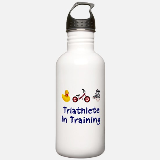 Triathlete in Training Water Bottle