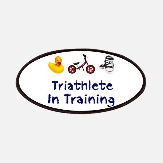 Triathlete in Training Patches