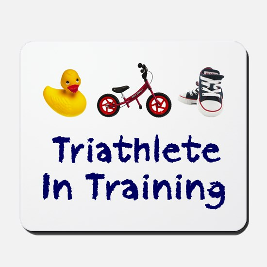 Triathlete in Training Mousepad