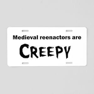 Medieval Reenactors Aluminum License Plate