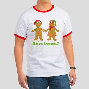 Christmas Engagement Ringer T