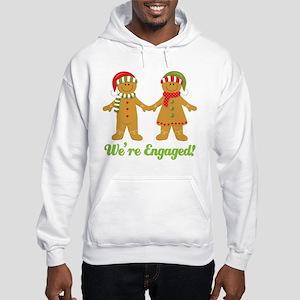 Christmas Engagement Hooded Sweatshirt