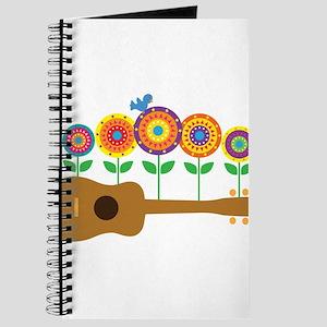 Ukulele Flowers Journal