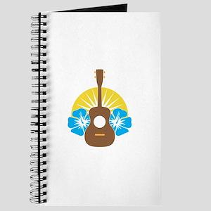 Ukulele Hibiscus Journal