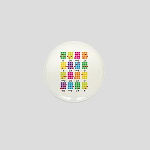 Chord Cheat Tee White Mini Button