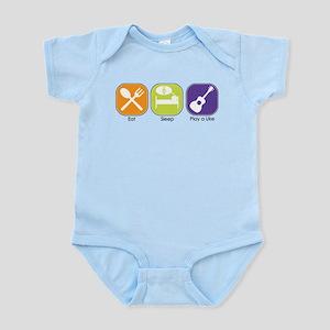 EAT, SLEEP, PLAY UKE Infant Bodysuit