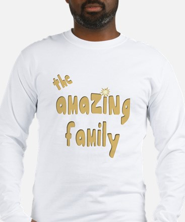 The Amazing Family Long Sleeve T-Shirt