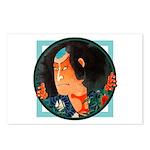 Ukiyo-e - 'Kuniyoshi Warrior' Postcards (Package o