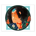 Ukiyo-e - 'Kuniyoshi Warrior' Small Poster