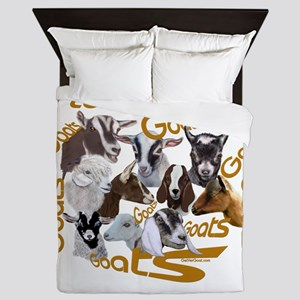 I love Goat Breeds Queen Duvet