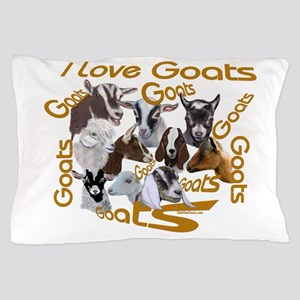 I love Goat Breeds Pillow Case