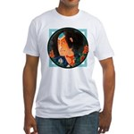Ukiyo-e - 'Kuniyoshi Warrior' Fitted T-Shirt