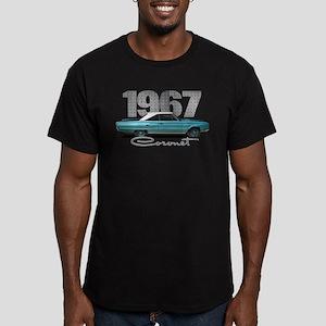 1967 Coronet Men's Fitted T-Shirt (dark)